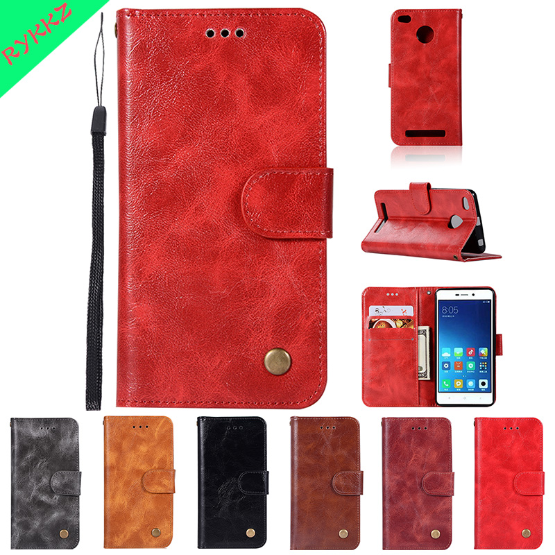 Flip cases For Xiaomi Redmi 3S 2016031 2016030 wallet phone bag for red mi 3s Redmi 3 S Hongmi 3S case Phone Leather Cover