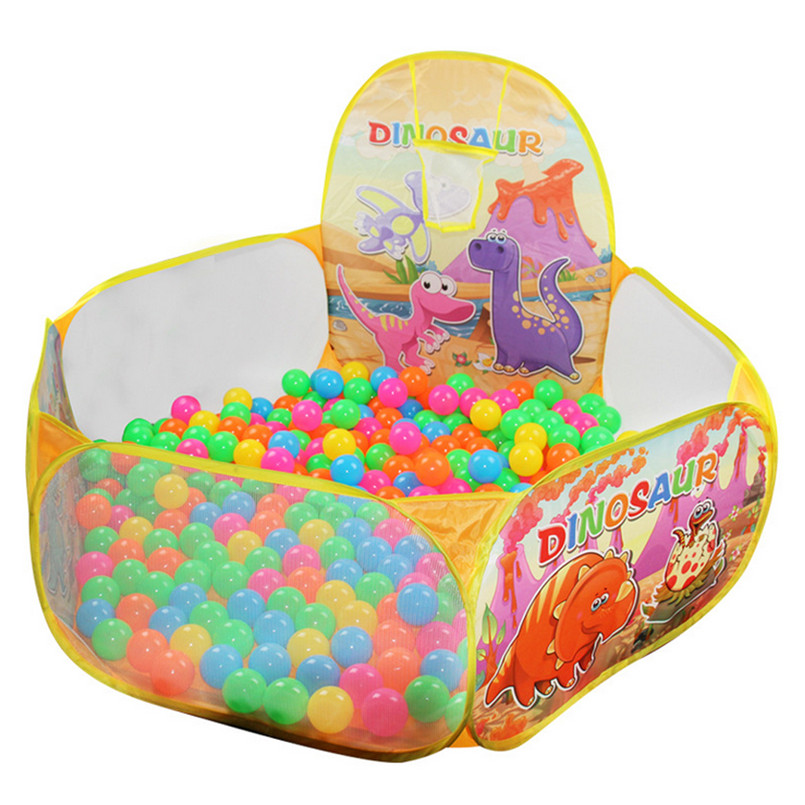 Dry Pool  Pop Up Hexagon Polka Dot Children Ball Play Pool Tent Carry Tote Toy OR Ball Pool #4M22