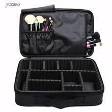 Makeup Bag Organizer Professional Box Artist Boxes Travel Cosmetic Pouch Handbag Maleta De Maquiagem Profissional