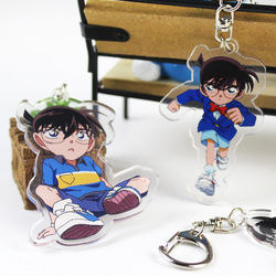 T249 Japan Anime Détective Conan Acrylique Keychain Porte-clés rare cosplay