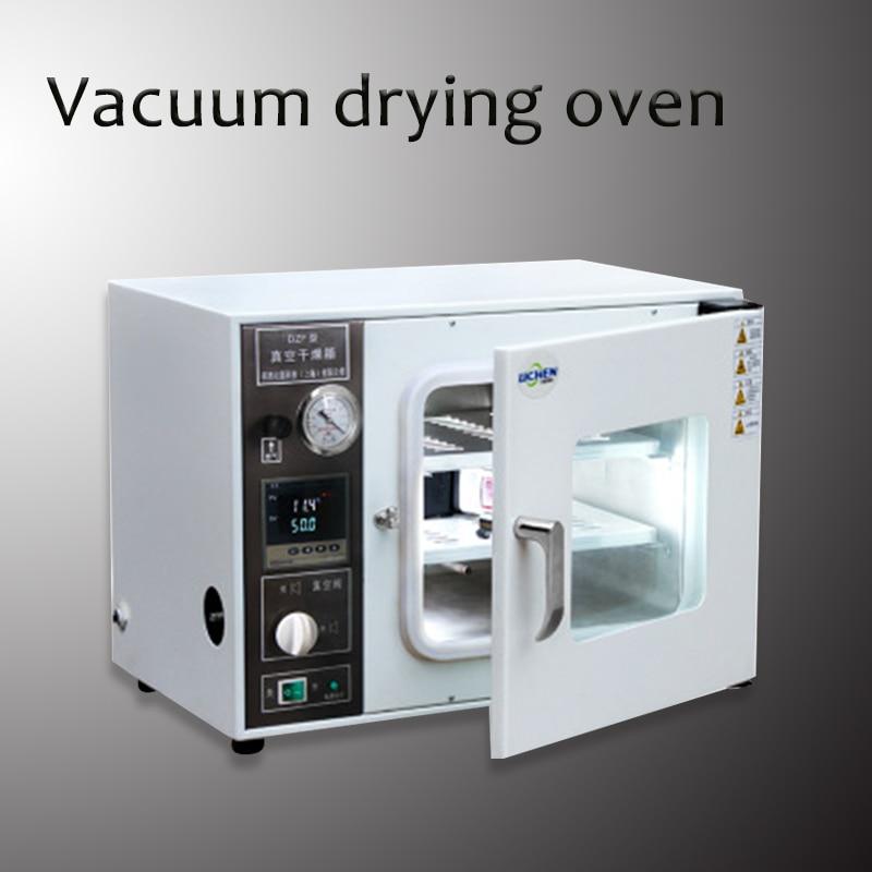 DZF 6020A Laboratorium Extractie Elektrische Verwarming Thermostaat Digitale Vacuüm Droogoven Laboratorium Drogen Tool