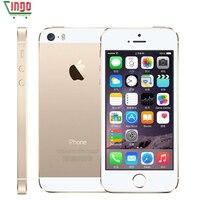 Fabrycznie Odblokowany iPhone 5S 16 GB/32 GB/64 GB ROM 8.0MP Kamera 1136x640 pixel WIFI Linii Papilarnych GPS Bluetooth Telefon komórkowy
