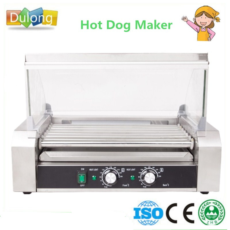 Home Use Commercial Mini Hot Dog Grill Machine Vending Sausage Hotdogs Roller Maker Heating Equipment coffee vending machine with 8 hot drinks