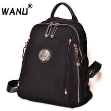 Модные непромокаемые кожаные рюкзаки Оксфорд для девочек школьная сумка Высокое качество для женщин Back pack простой повседневное рюкзак