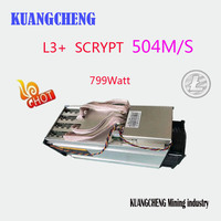 ASIC Miner ANTMINER L3 LTC 504M No Psu Scrypt Miner LTC Mining Machine 504M Better