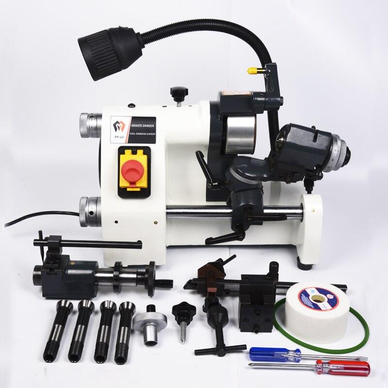 CE 220V U3 R8 Collets Universal Cutter Grinder Drill Sharpener Sharpening Machine for End Mill Twist