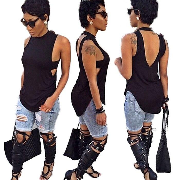 e343bc2d6c978 new fashion 2015 summer style long t shirt women brand t shirt dress,black  sleeveless women tops tee XD104
