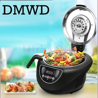 Household intelligent automatic cooking pot smart cooking robot meat vegetable cooker machine long time appointment EU US plug