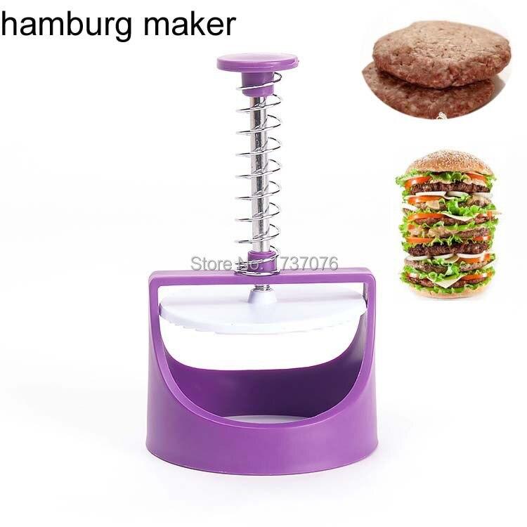 1ks vysoce kvalitní kutilské hamburgery pro masové plastové sendvičové formy pro kuchyňské nářadí