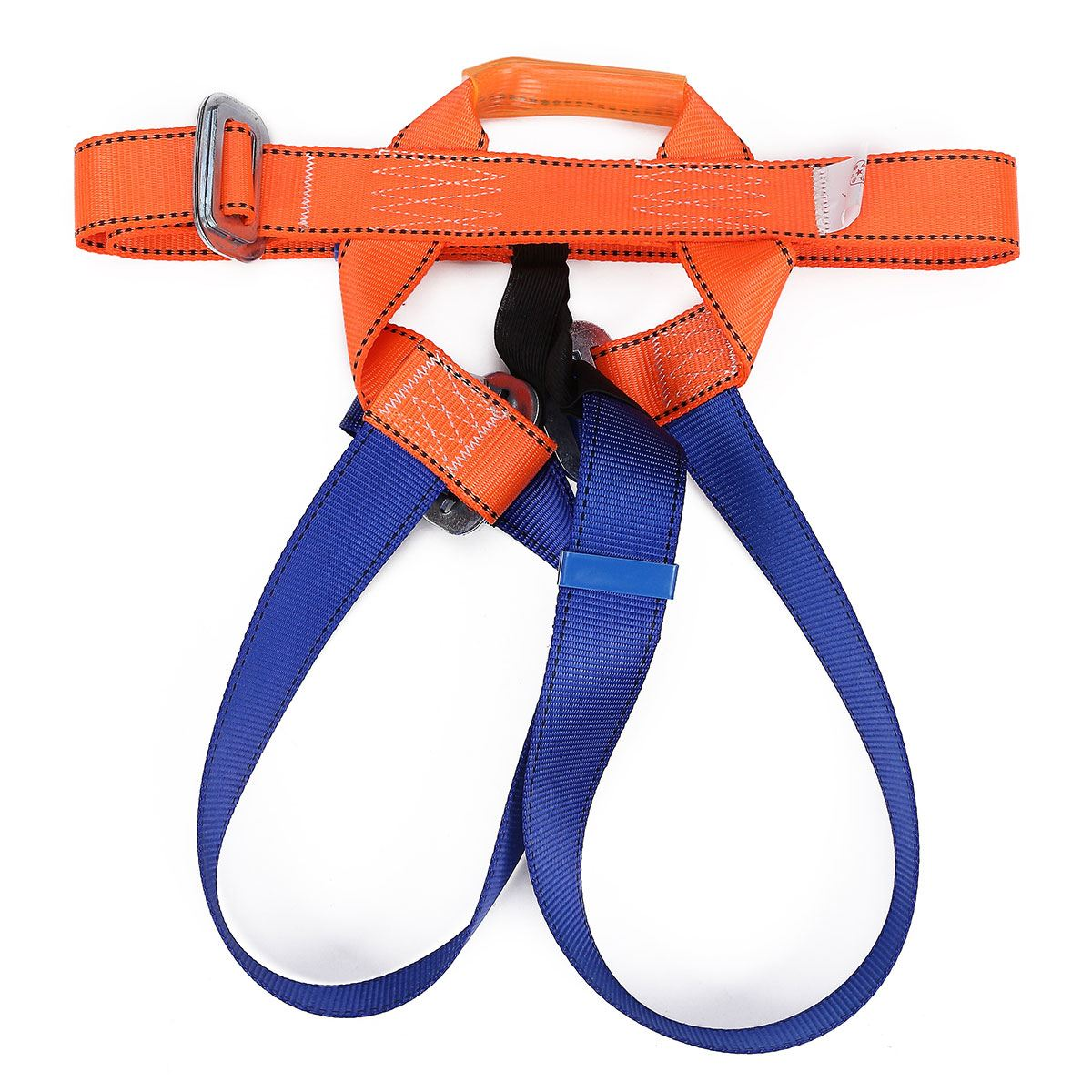 NEW Rappelling Rock Climbing Harness Seat Belts Sitting Bust Belts Half-body Safety belt equipment  Workplace Safety hot sale safety body harness outdoor mountaineering rock climbing harness protect waist seat belt outside multi tools