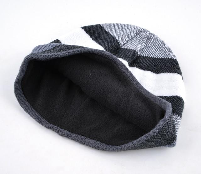 Knitted Wool Beanie 8