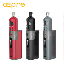 100% Original Aspire Zelos Vaping Kit 50W 2500mAh 2ml Nautilus 2 Tank Electronic Cigarette and 50w Zelos Mod Battery 510 Thread