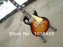 Hersteller zu machen hochwertige e-gitarre LP tigerstreifen tiefe TS farbe angepasst werden ems-freies verschiffen
