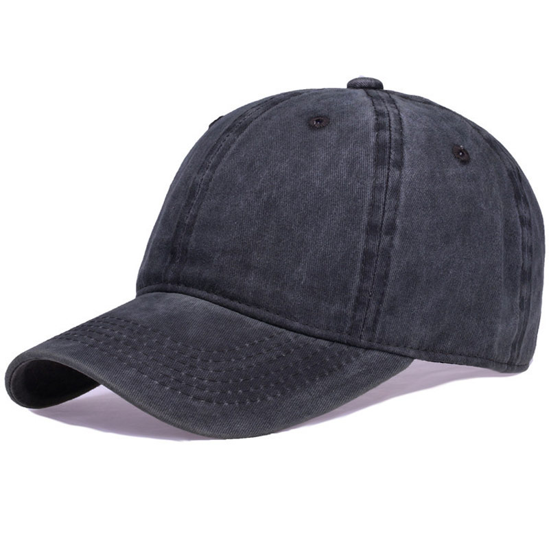 c1054f2fdcf Adjustable Vintage Blank Hat Plain Washed Dyed Baseball Cap Curved Brim Dad  Hat for Men Women-in Baseball Caps from Apparel Accessories on  Aliexpress.com ...