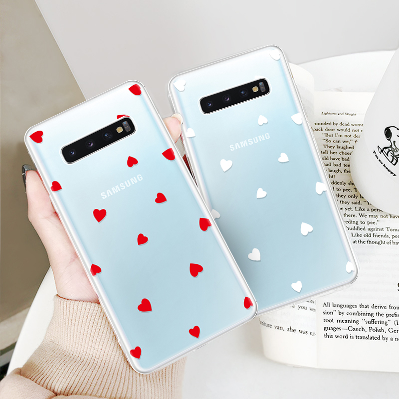 Color Printed TPU Cover Case For Samsung Galaxy S10 S10 Plus S10e Coque  Soft Silicone Phone Shell For Samsung Galaxy S10 S10Plus