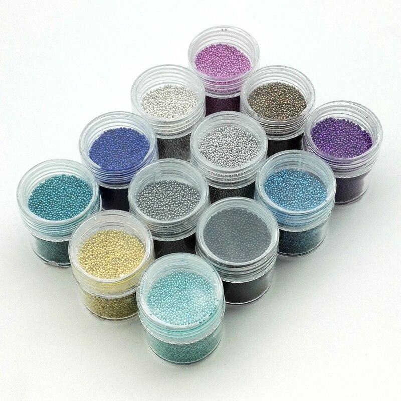 10g/Box 0.6mm0.8mm Mini Nail Art Caviar s