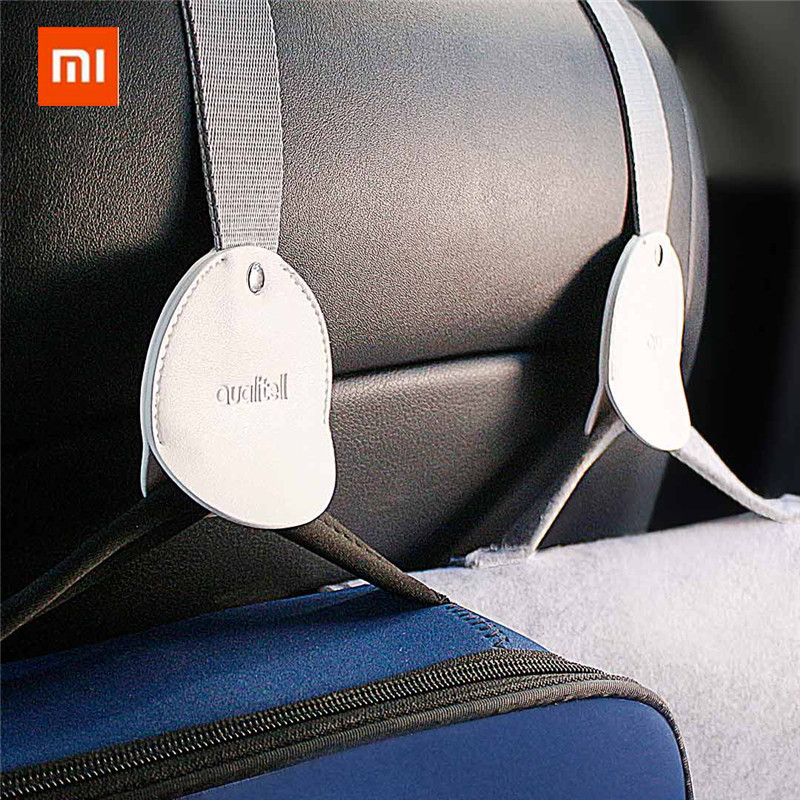 Xiaomi Mijia Qualitell Car Hook 2pcs For Car Storage Easy To Install Safety Design For Car High Quality Hooks For Bag Hanger