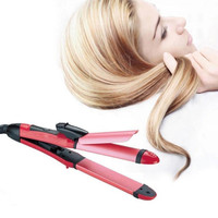 Hair Straightener & Hair Curler for Women Beauty Tools