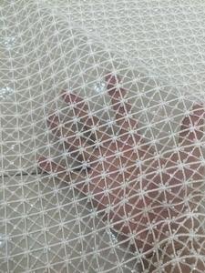 Image 3 - スーパー品質LJY 53103刺繍アフリカレース生地でフルビーズ用ブライダルドレス