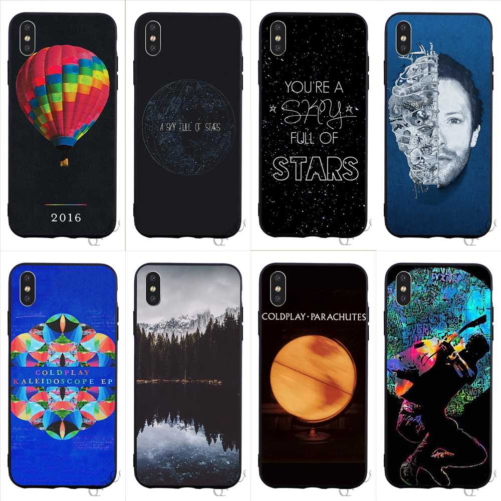Half-wrapped Case Personalisation Coldplay Yellow Soft Hotsales For Samsung Galaxy A3 A5 A6 A6s A7 A8 A9 Star Plus 2016 2017 2018