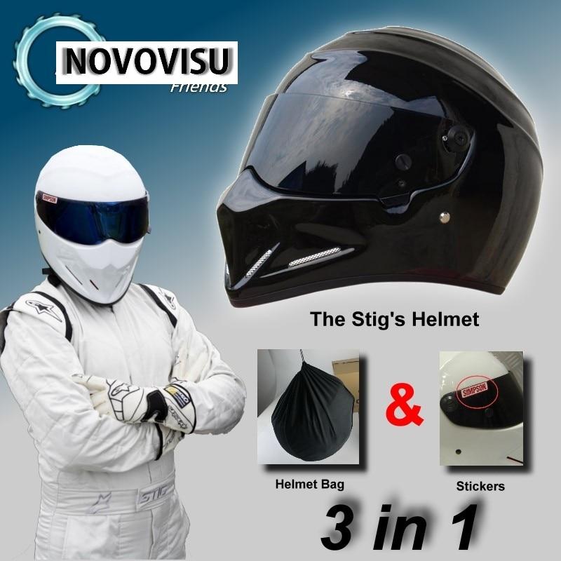 NOVOVISU 3in1 Package For The STIG Helmet Capacete Casco De