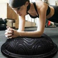 Новые модели высокого качества yoga шаровой корпус баланс Полушаровой фитнес мяч BOSU тренажерный мяч спорт фитбол доказательство