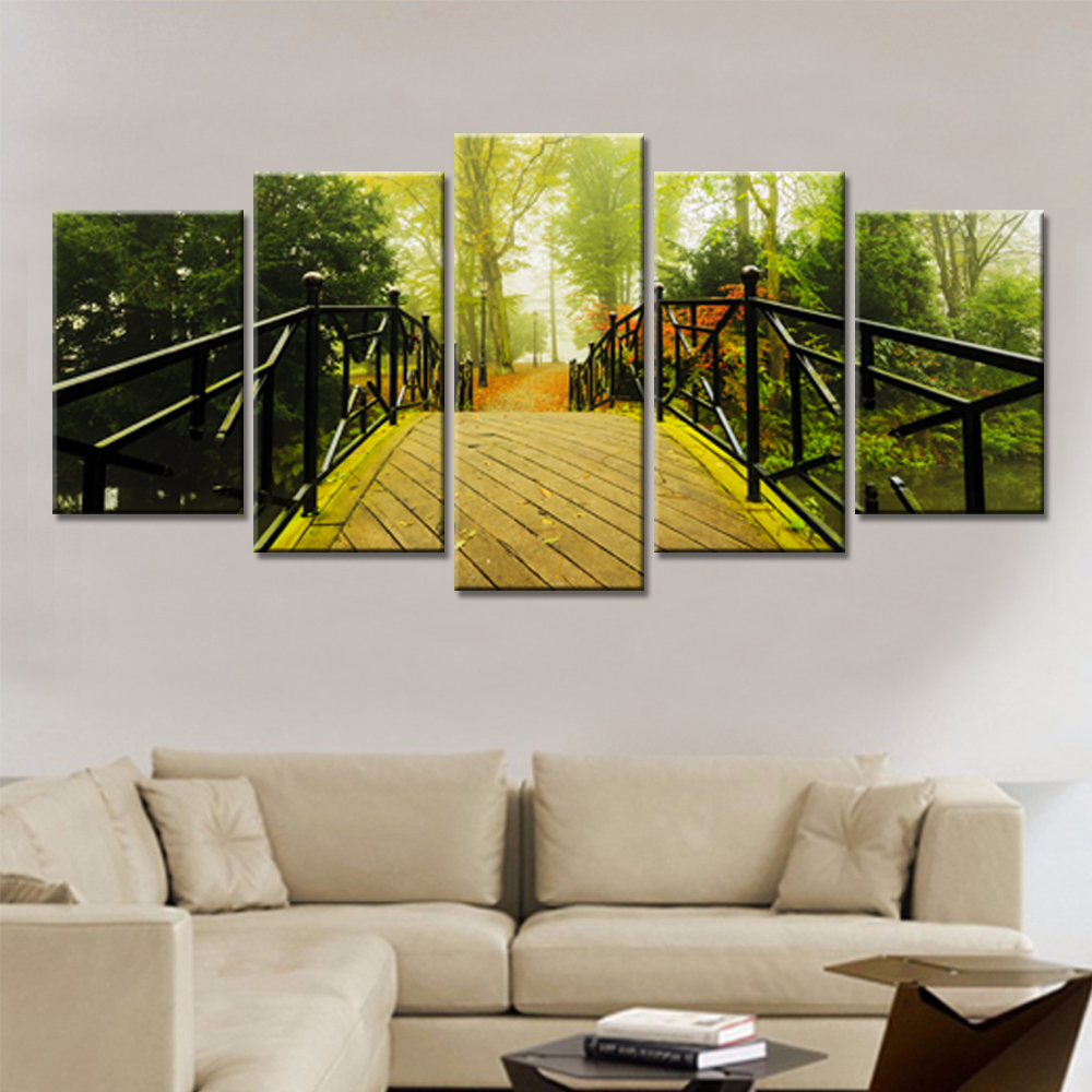 Popular Paintings Bridge-Buy Cheap Paintings Bridge lots from China ...