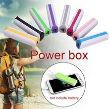 Portable USB External Backup Battery Charger Case For Cell Phone Outdoor Powerbank Boxes Protection Body Shell