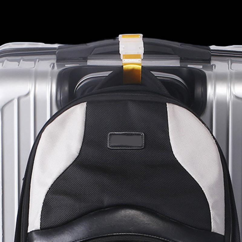 Candy Colors Travel Luggage Straps Short Adjustable Suitcase Belt Buckle Holder