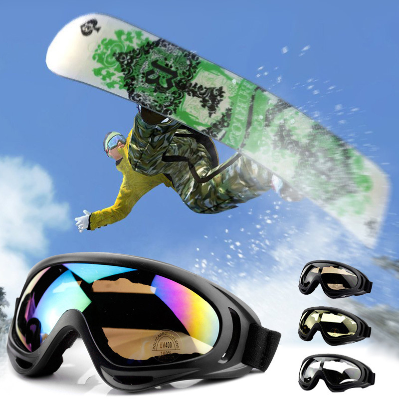 Winter Skiing Goggles Snow Sports Snowboard Anti-fog Snowmobile Windproof Dustproof Glasses Skate Ski Sunglasses Eyewear