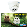 ESCAM QD100 Dome IP Camera HD 720P Surveillance Camera 3.6MM Night Vision IR-Cut Onvif H.264 Dome CCTV Camera Home Security