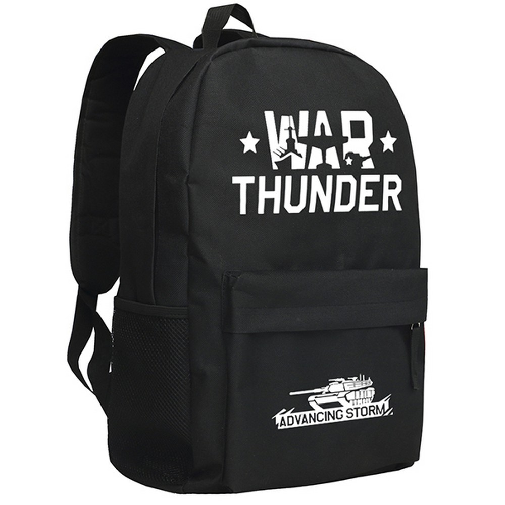 MeanCat Russian War Thunder PC Game 3D Gaijin Entertainment War Thunder School Backpack for Teenagers and Adults цена и фото