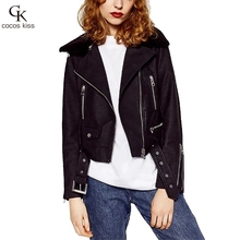 2017 new style hot woman style PU Lamb Fur leather limited supply  women leather coat