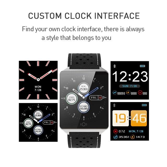 Delle donne di Sport Intelligente Orologio Signore Smartwatch Messaggio Del Telefono Chiamata di Promemoria Uomini Della Vigilanza Del Braccialetto Orologi Da Polso Bluetooth per Android IOS