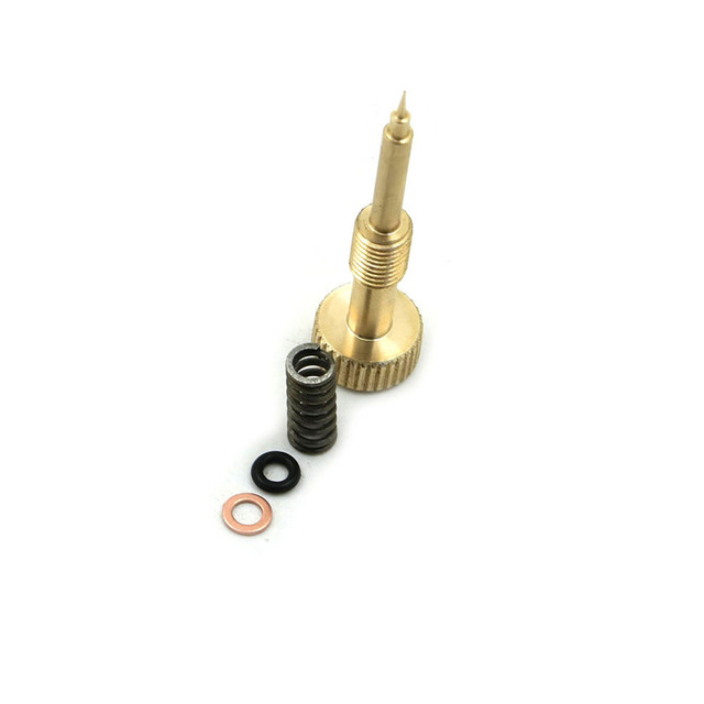 US $11 64 49% OFF|Stock For KEIHIN CV Carburetor 1990 2006 Harley CNC  Adjusting Carb Rebuild idle Mixture Screw ,a brass wealth screw spring-in