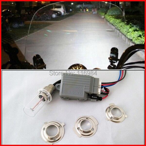 !NEW!! Motorcycle H6M Hi/Low Hid Lights Kit DC12V 35W Xenon Bulbs 3000K 6000K 8000K 10000K 12000K