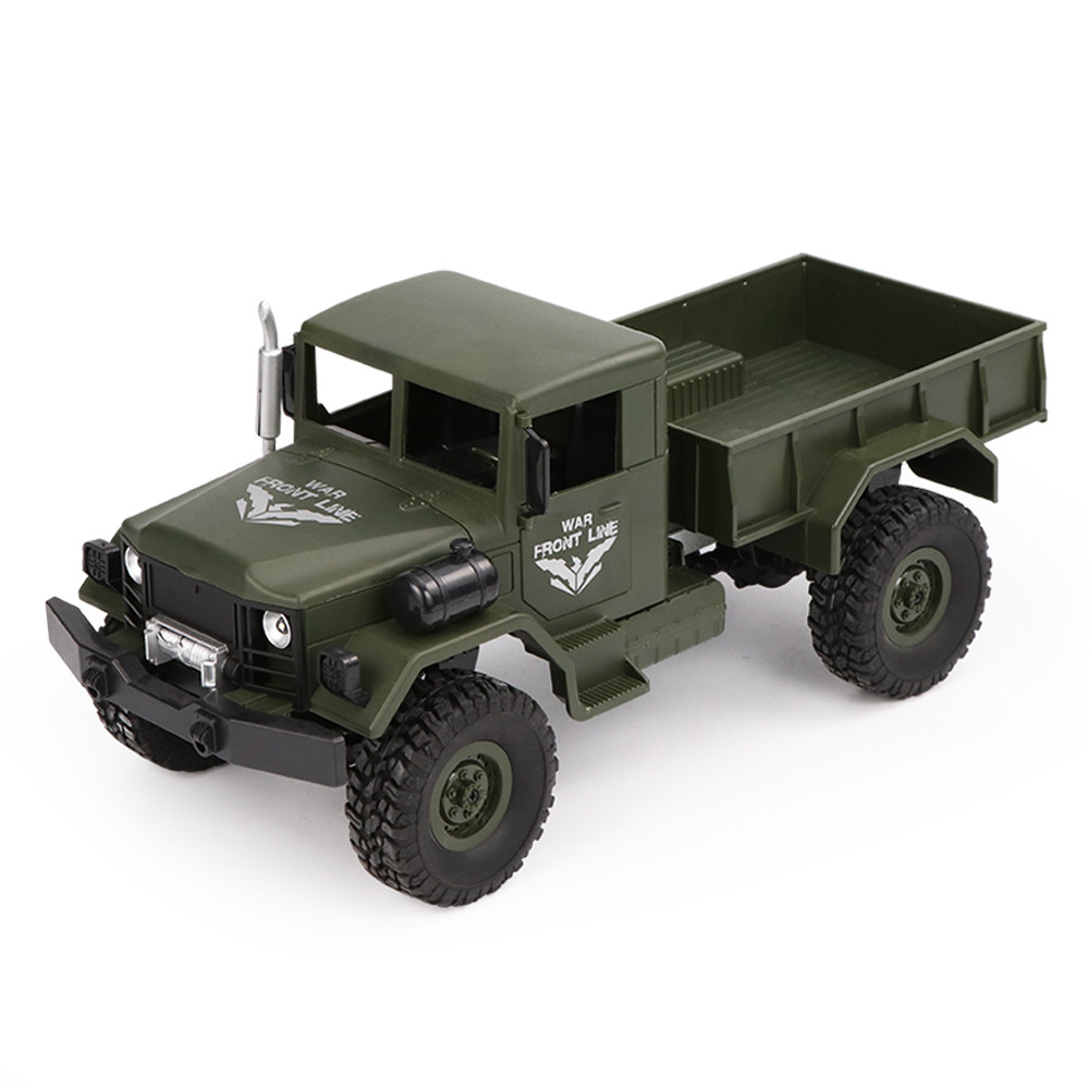 JJRC Q62 1/16 2.G 4WD Off Road Military Trunk Crawler RC Car Remote Control Off Road Kids Toys Birthday Christmas Gifts VS H61