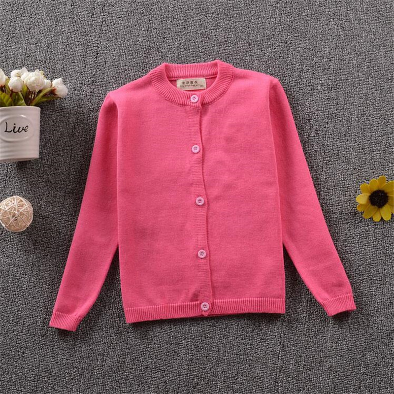 Autumn New Fashion Brand Sweaters Kids Cardigan High Quality Casual Solid Color Boys And Girls Sweater knit Children 39 S Sweater in Sweaters from Mother amp Kids