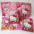 Мультфильм hello kitty ID Карты Владельца Паспорта Кожа ПВХ 3D Дизайн Обложка для Паспорта 14*9.6 СМ Владельца паспорта