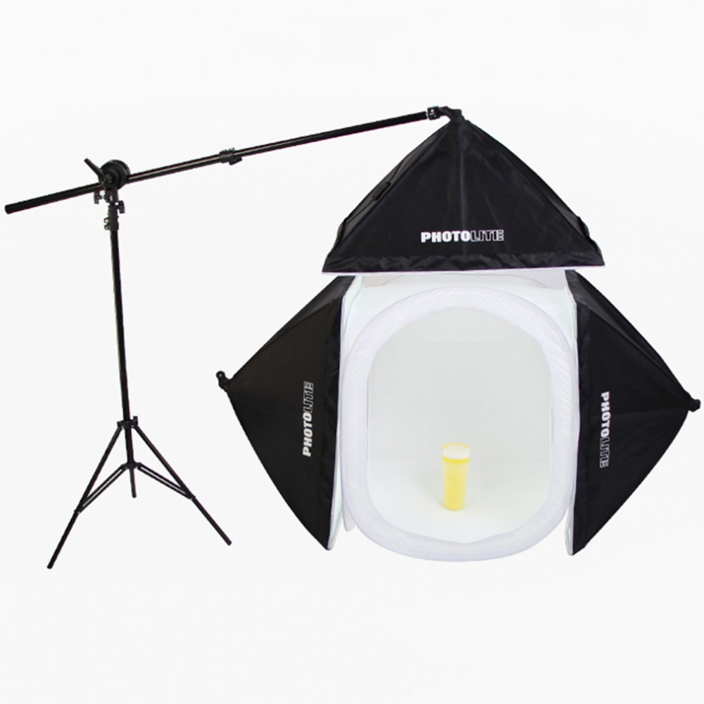 40*40 cm Photo Studio Shooting Tent Light Caja Softbox Kit + 4 Telones + Bolsa d