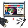 Raspberry Pi 3 Модель B 7 дюймов LCD Сенсорный Экран, Модуль в сочетании С Портативного устройства 800X480 Предназначен Для Raspberry Pi 2
