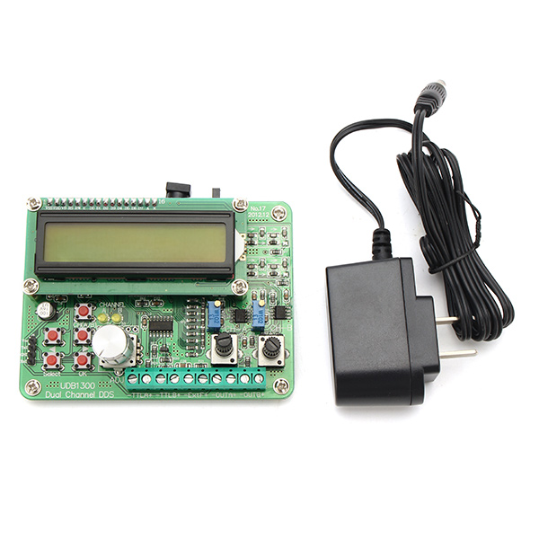 UDB1300 Double DDS Signal Source Dual TTL Generator 60MHz Frequency Free Shipping