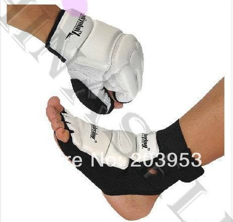 sanda boxing Karate Judo taekwondo sandbags gloves hand gauntlets Protector + nursing ankle fighting foot ankle protective gear jduanl muay thai boxing waist training belt mma sanda karate taekwondo guards brace chest trainer support fight protector deo