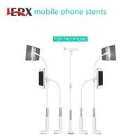 JERX 120 CM duża Uniwersalny Elastyczne Długie Ręce Posiadacz Telefonu komórkowego Pulpit Bed Lazy Przejezdne Stanowisko Wsparcie dla iPhone IPad