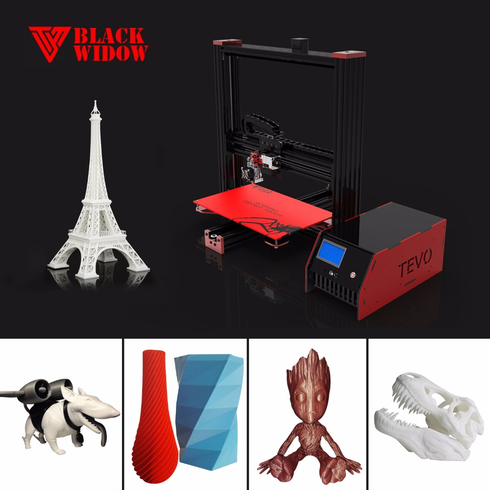TEVO Black Widow Printing Area 370*250*300mm With BLTouch Sensor OpenBuild Aluminium Extrusion 3D Printer kit 3d printing