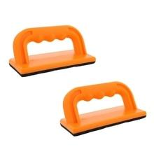 Деревянная резка Push Up Stick Block 2-Pack Набор-угол ручки пены колодки держатель блоки для резки на столярных, Настольная пила