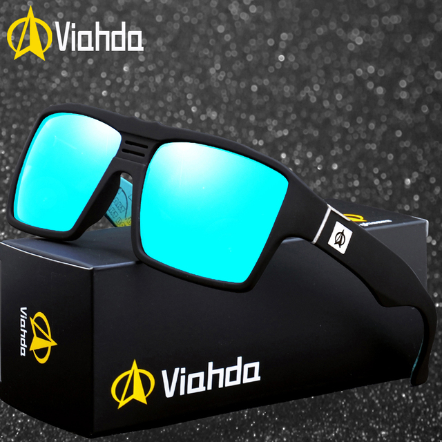 cc3488c6da7d Viahda Polarized Sunglasses Women Men Brand Design Frame Sun Glasses ...