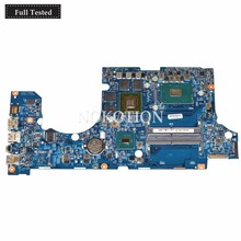 NOKOTION 14302-1M For ACER Aspire VN7-592 VN7-592G Laptop Motherboard With i7-6700HQ 2.6Ghz CPU GTX 960M 4GB NB.G6J11.001