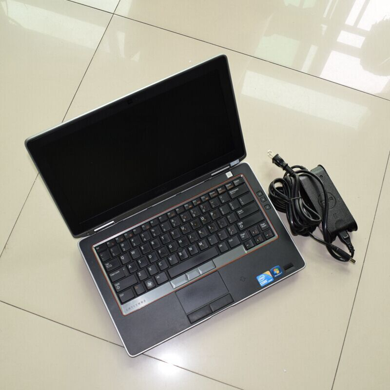 auto diagnostic computer e6320 font b ram b font 4g i5 cpu with battery used font