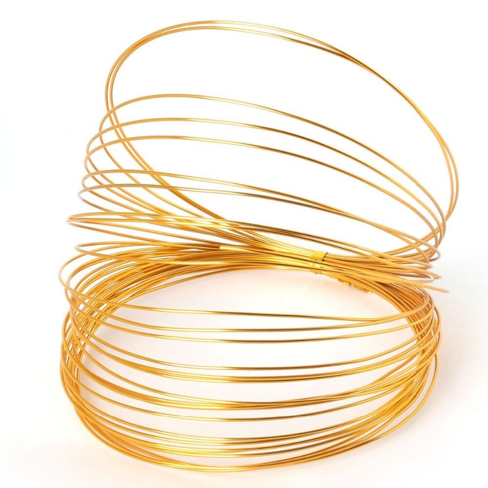 1.0mm 18 gauge multi colors anadized aluminum wire coil 10m/roll ...